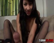 Euro Step Teen Footjob - scene 3