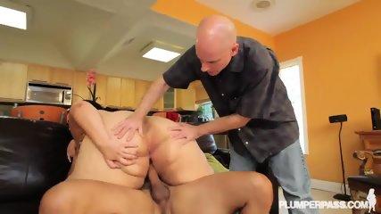 Fat Lady Gets Rammed Hard - scene 11