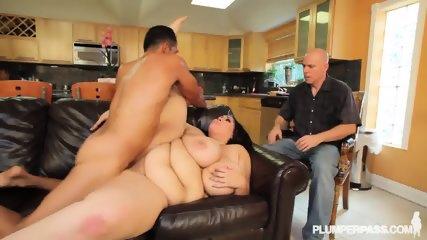 Fat Lady Gets Rammed Hard - scene 12