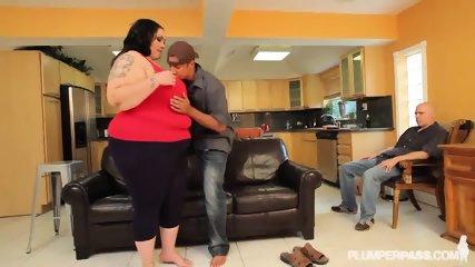 Fat Lady Gets Rammed Hard - scene 4