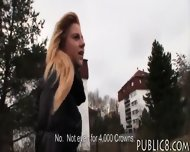 Czech Girl Was Convinced To Get Fucked In Exchange For Money - scene 2