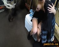 Two Lesbians Girls Pawned Their Asses At The Pawnshop - scene 7