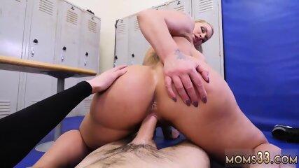 Milf edging handjob gym anal Dominant MILF Gets A Creampie After Anal Sex