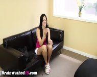 Cummed On Trance Teen - scene 1