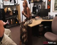 Horny Bitch Pawns Her Sweet Pussy At The Pawnshop For Money - scene 4