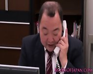 Mature Japanese Business Lady Queens Babe - scene 1