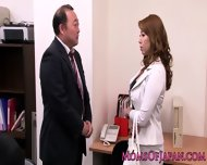 Mature Japanese Business Lady Queens Babe - scene 2