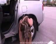 Naked In A Parking Lot - scene 7
