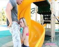 Tight Blonde Teen Babe Skylar Green Sucks Off And Screwed Up - scene 3