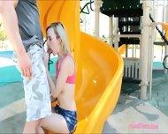 Tight Blonde Teen Babe Skylar Green Sucks Off And Screwed Up - scene 4
