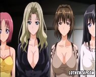 Four Anime Girls Decided To Relax In Village - scene 2