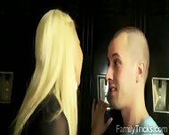 Cougar Catches Stepdaughter Going Naughty With A Stud - scene 2