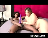 Black Bitch Toy Fucked By White Girl - scene 10