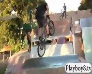 Lovely Badass Babes Enjoyed An Exciting Dirty Biking - scene 10