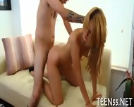 Timid Asian Teen Gets Drilled - scene 12