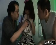 Cumshot Delight For Cute Babe - scene 7