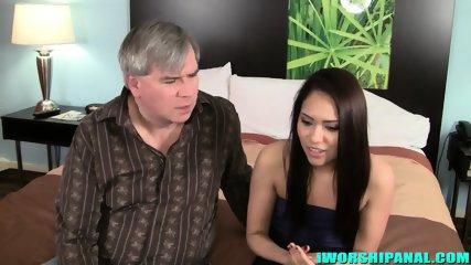 Huge Dose Of Cum In Her Ass - scene 1