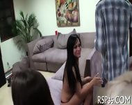 Four Teens In One Bed - scene 12
