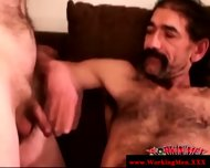 Old Mature Straight Dilfs Touching Cock - scene 10