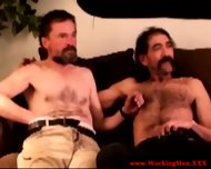 Old Mature Straight Dilfs Touching Cock - scene 2