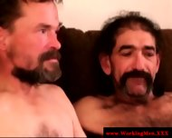 Old Mature Straight Dilfs Touching Cock - scene 6