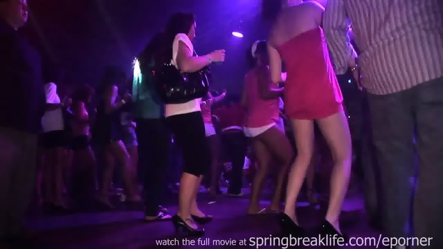 Club Girls Flashing And Up The Skirt