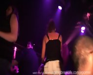 Club Girls Flashing And Up The Skirt - scene 3