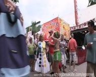 Daytime Titties In Key West - scene 11
