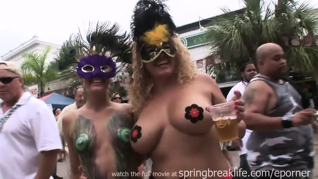 Fantasy Fest Painted Tits
