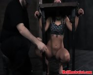 Kinkysex Sub Has Her Mouth Clamped Open - scene 10