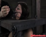 Kinkysex Sub Has Her Mouth Clamped Open - scene 4