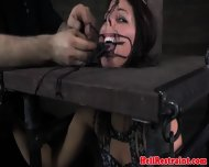 Kinkysex Sub Has Her Mouth Clamped Open - scene 7