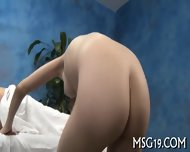 Oiled Beauty Rides Hard Boner - scene 6