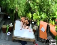 Gianna Enjoys Licking Kacis Pussy In A Lesbian Outdoor Sex - scene 5