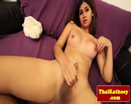 Young Ladyboy Shows Her Tight Butthole - scene 9