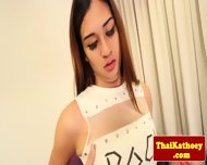 Young Ladyboy Shows Her Tight Butthole - scene 2