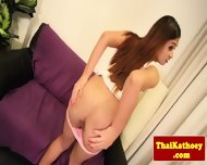 Young Ladyboy Shows Her Tight Butthole - scene 3