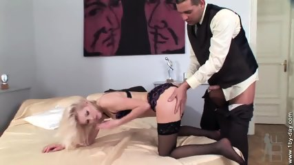 Dildo, Dick And Cum In Her Anus - scene 4