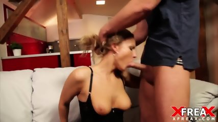 Sexy Blonde Tries Anal Sex - scene 7