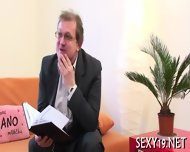 Hot Couch Fucking Lesson - scene 3