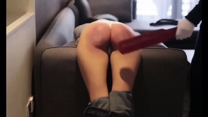 wife needed punishment - couldn t sit for 3 weeks after it