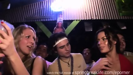 Flashing Pussy And Tits In A Club - scene 2