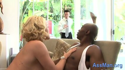 Romantic busty girlie Krissy Lynn behaves like whore