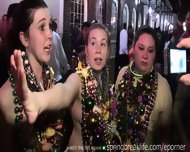 Mardi Gras Girls Flashing - scene 1