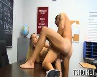 Deep In Schoolgirls Pussy - scene 5