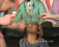 White Men Brutalize Black Teen Girl - scene 8
