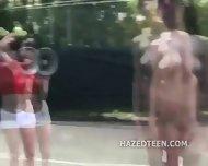 Naked Teen Girls Spread Butt Cheeks Wide - scene 4