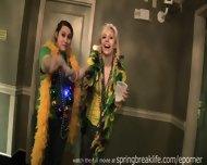 Mardi Gras Hotel Room Party - scene 12