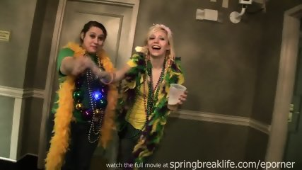Mardi Gras Hotel Room Party - scene 12