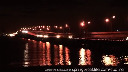 Naked On A Bridge With Big Boobs - scene 11